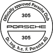 Officially approved Porsche Club 305